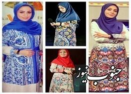 تقدیر از مجری زن برای پوشش ایرانی +عکس